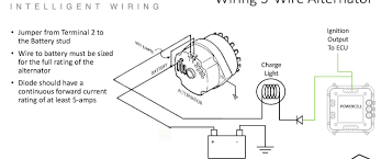 wiring diagram for car alternator alternator wiring diagram