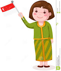 Singapore Flag Icon Flag Cloth Clipart Clipground