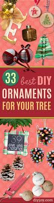 33 best diy ornaments for your tree diy