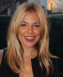 whatbhair texture does sienna miller have sienna miller grown out fringe hair pinterest sienna miller
