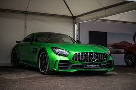 green mercedes new powerful track focused mercedes amg gt r lands at goodwood