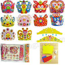 aliexpress com buy 10pcs lot handmade animal crown craft kits