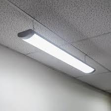 lights of america led shop light lights of america premium 8500s 60 watt led shop light 5500 lumens 4
