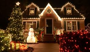 Christmas Decorating Home by 17 Outdoor Christmas Light Decoration Ideas Outside Christmas