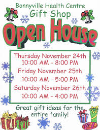 Christmas Open House Ideas by Bonnyville Health Centre Gift Shop Open House Bonnyville Alberta