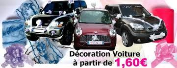 kit deco voiture mariage accessoire deco voiture le mariage