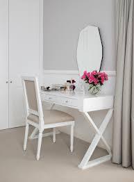 vanity desk with mirror method sydney transitional bedroom image