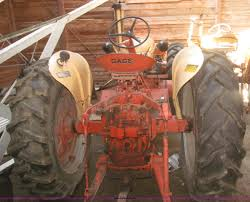1955 case 411 row crop tractor item f7362 sold may 28 a
