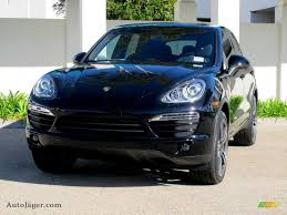 Black Porsche Cayenne - 2012 porsche cayenne in black a05317 auto jäger german cars