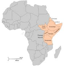 Map Of Africa Political by Map Of East Africa World Map