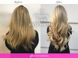 keratin bond extensions the difference between ins and fusion hair extensions