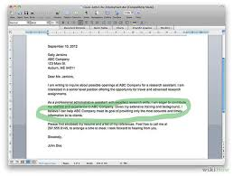 how to write a cover letter 9 steps