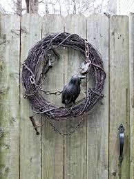 Halloween Wreaths Pinterest by Spooky Wispy Wreath Paper Bats Halloween Wreath The Green Head