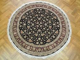 Round Kitchen Rug by Large Round Area Rug Roselawnlutheran
