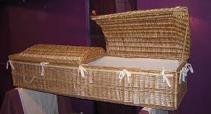 wicker casket best ecofriendly coffins eco