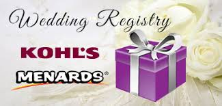 menards gift registry wedding adam judy 2018