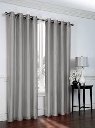 1 panel nancy solid silver gray semi sheer window faux silk