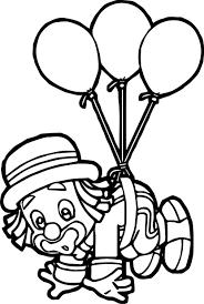 patati patata clown coloring page wecoloringpage