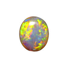 green opal rock dark crystal opal stone unset 7 69 carat oval gem flashopal