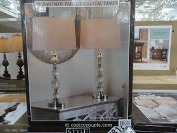 stylecraft crystal table lamp set