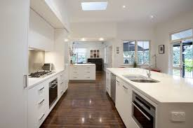 Galley Style Kitchen Remodel Ideas Kitchen Galley Style Kitchen Boasts Miele Liances And Glass