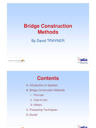 bridge construction methods prestressed concrete precast concrete