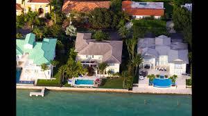 Celebrity Houses In Miami Beach Miami Beach Waterfront Homes Miami Luxury Homes Youtube