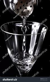 martini shaker pouring glass stock photo 53311087 shutterstock