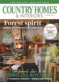 country home and interiors oakwrights in the press