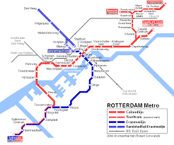 rotterdam netherlands metro map rotterdam map detailed city and metro maps of rotterdam for