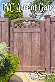 Backyard Fence Styles by 17 Fence Ideas That Add Curb Appeal To Your Home Illusions Vinyl