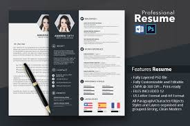 Stanford Resume Template Creative Resume Cv Template With Cover Letter And Portfolio
