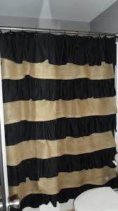 burlap black star curtains top curtain burlapblackstarfabric with