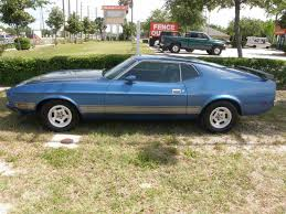 Mustang Mach One 1973 Ford Mustang Mach 1 For Sale On Classiccars Com 12 Available