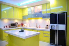 yellow kitchen design small modern kitchen cabinets smart home kitchen