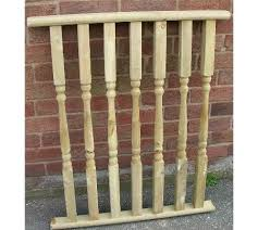 Banister Rail And Spindles Fitting Spindles Decking