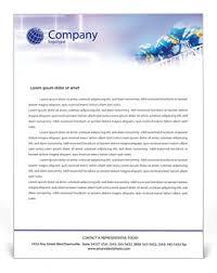 ecommerce letterhead template u0026 design id 0000000007