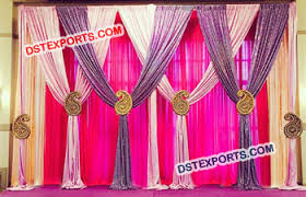 wedding backdrop curtains indian wedding mandap backdrops curtains