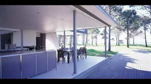 l shaped beach house design with open plan concept youtube