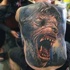 Transformation Tattoo Ideas 80 Werewolf Tattoo Designs For Men Full Moon Folklore