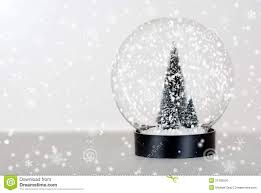 christmas tree snow globe christmas lights decoration