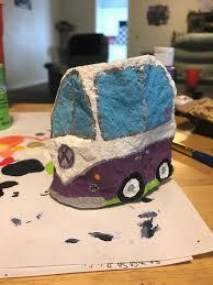 volkswagen bus painting volkswagen bus painted rock rocks pinterest painted rocks