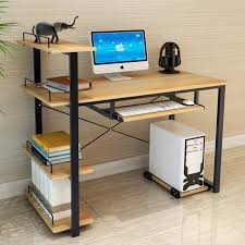 ordinateur de bureau ou portable moderne de mode style simple ordinateur de bureau table d
