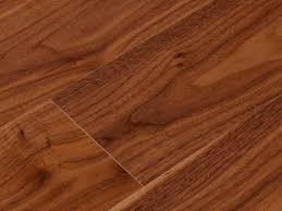 engineered parquet flooring glued walnut lacquered