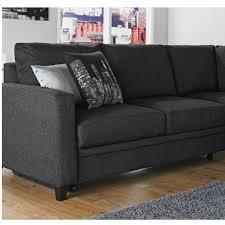 Charcoal Sofa Bed Hygena Seattle Right Hand Corner Sofa Bed Charcoal Furnico