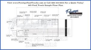 Portable Building Floor Plans Custom Food Truck Floor Plan Samples Prestige Custom Food Truck