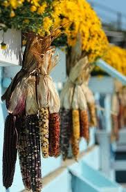 Corn Stalk Decoration Ideas Natural Fall Decorating Bring The Outside Inside This Season