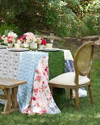 Tea Party Table by Bridal Shower Martha Stewart Weddings
