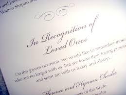 Wedding Memorial Weddings 20 Ways To Honor Those Who Have Passed Las Vegas