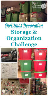 decoration storage challenge organizing decorations